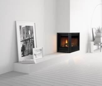 Heat & Glo Corner Series Gas Fireplaces