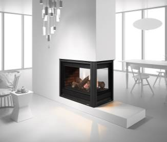 Heat & Glo Pier-36TR See-Through Gas Fireplace