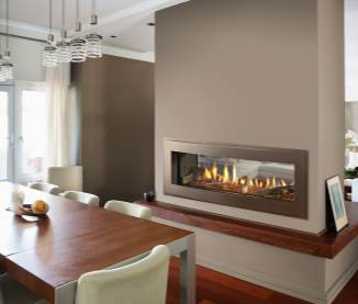 Heatilator Crave See-Through Series Gas Fireplace