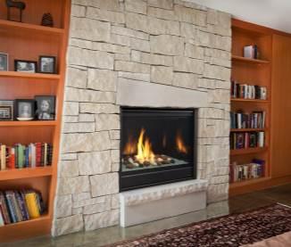 Heatilator Caliber Modern Gas Fireplace Series