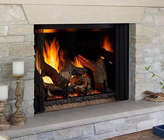 Heat & Glo Phoenix TrueView Gas Fireplace