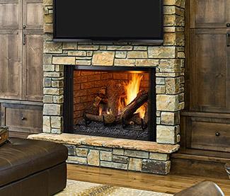 Heatilator Legacy TrueView Gas Fireplace
