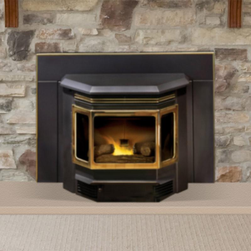 Classic Bay 1200 Pellet Stove Insert by Quadra-Fire
