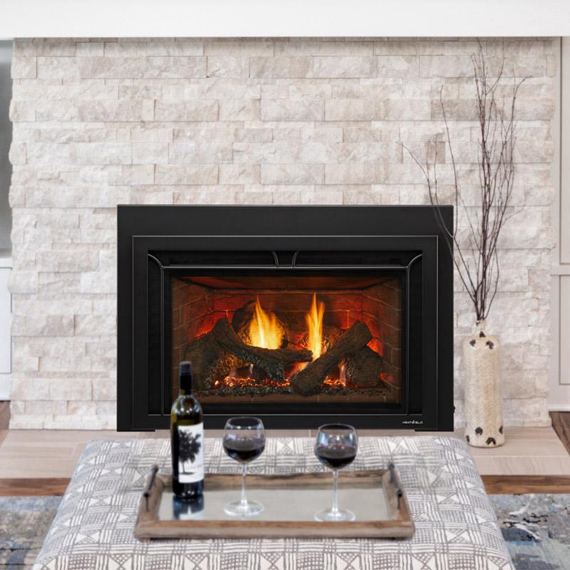 Heat & Glo Supreme Series Gas Fireplace Insert