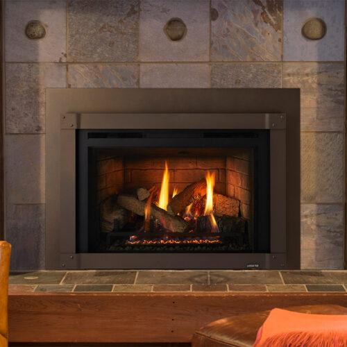 Quadra-Fire QFI FB Series Gas Fireplace Insert