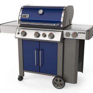 Weber grill blue