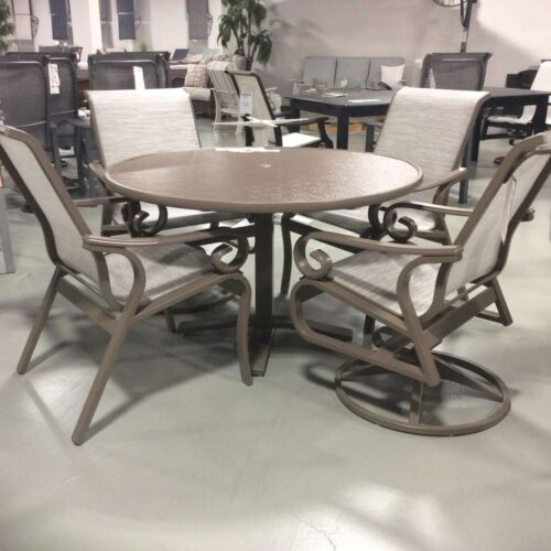 Charleston Outdoor Dining Set by Telescope Casual