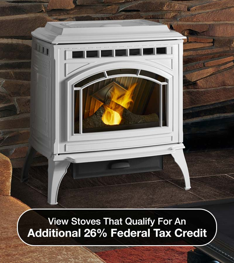 Stove; View stoves that qualify for an additional 26% federal tax credit